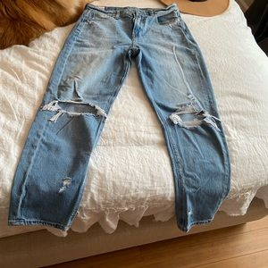 AE size 8 jeans